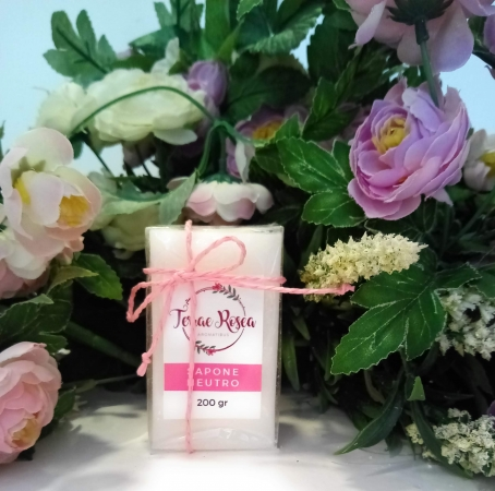 TERRAE ROSEA AROMATIBUS. NATURAL SOAP, VEGETABLE CAMELIA & GRAPEFRUIT g. 200 COSMETICI & MAKE-UP NATURALI PROFESSIONALI